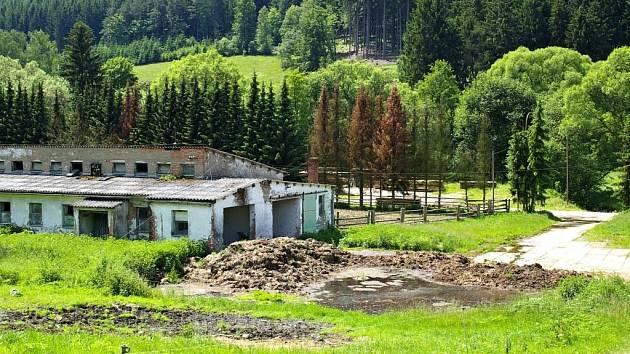 Hnojiště ve Vojtěchově