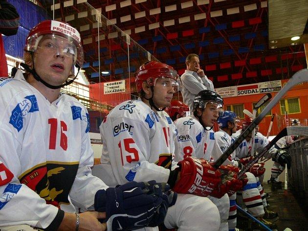 Prostějovští hokejisté.