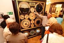 V ústeckoorlickém muzeu představil restaurátor Petr Skála orloj Františka Planičky ze Slatinek