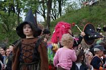 Čarodejnice na plumlovské zámku. Ilustrační foto
