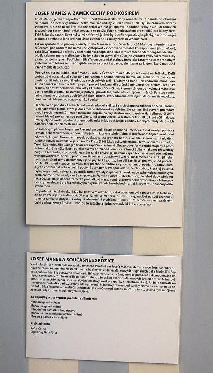 Zámek v Čechách pod Kosířem - 30. dubna 2019