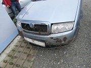 Následky nehody v Kralicích na Hané