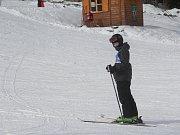 Závod v obřím slalomu Kladecká lyže 2018