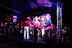 Celý víkend zněla Němčicemi hudba.