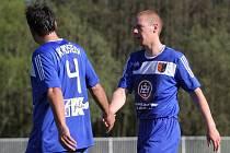 Fotbalisté 1. FK Prostějov. Ilustrační foto