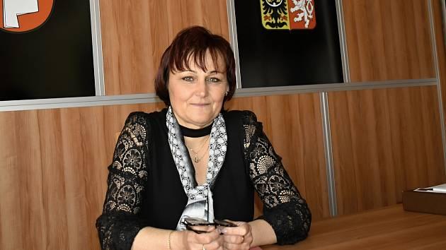 Starostkou Tištína je místní rodačka Alena Wagnerová