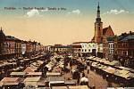 Vroce 1390 udělil markrabě Jošt Prostějovu právo ke konání výročního svobodného trhu (jarmark), kterého se mohli účastnit nejen domácí, ale i cizí řemeslníci a obchodníci. Trh se konával v den Nanebevstoupení Páně (svatodušní jarmark).