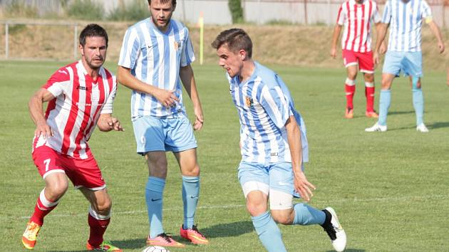 Prostějovští fotbalisté zahájili novou sezonu výhrou nad Hulínem.