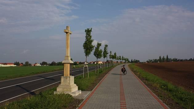 Kříž uprostřed Moravy