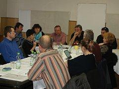 Jednání zastupitelstva v Plumlově