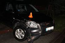 Nehoda v Němčicích nad Hanou - 13. 6. 2019