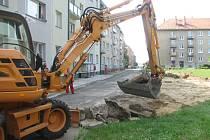V Bulharské ulici  přibudou odstavné plochy.