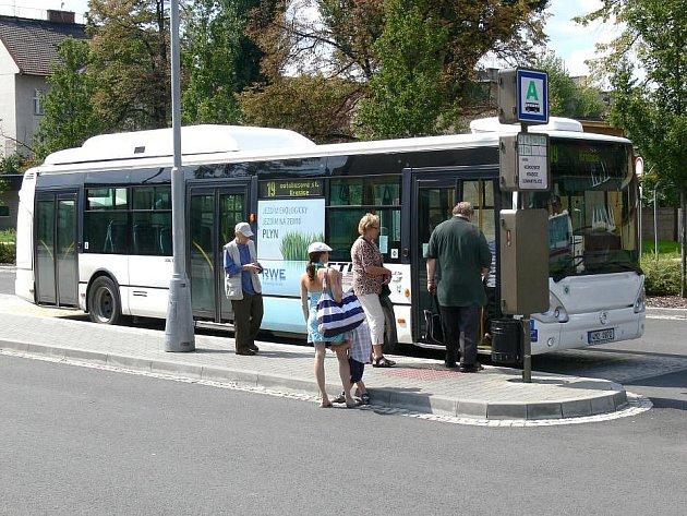 Autobus prostějovské MHD. Ilustrační foto