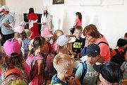 Týden s pohádkou prožili předškoláci na Zámku Plumlov.