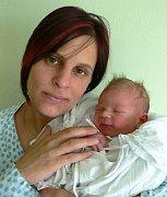 David Korhoň s maminkou Lenkou, Blatec, narozen 29. dubna, 50 cm, 3250 g