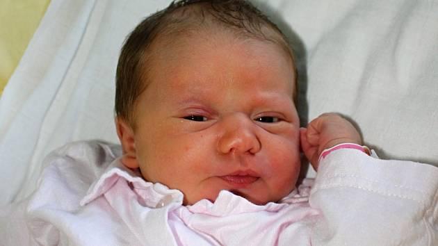 Natálie Smičková, Prostějov, narozena 26. listopadu, 47 cm, 3100 g