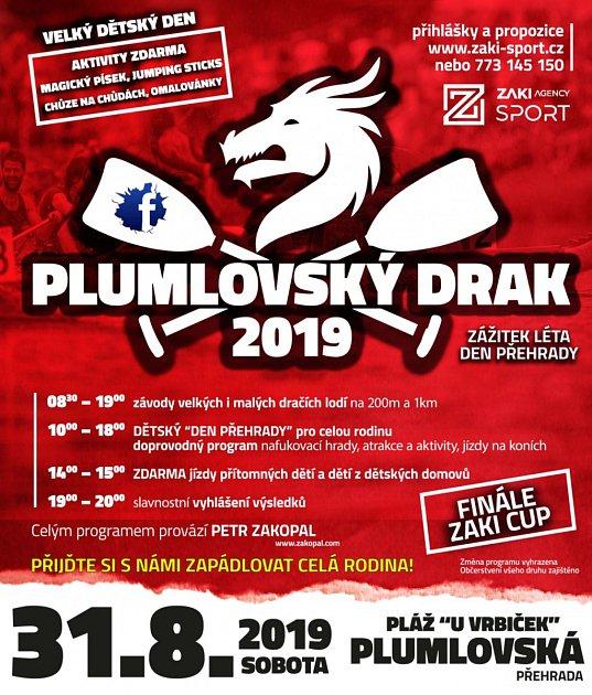 Plumlovský drak 2019