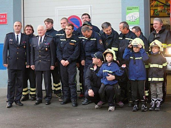 VBrodku uProstějova mají hasiči předlouhou tradici. Letos oslaví už sto třicáté výročí založení sboru.