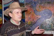Václav Ježek Von Thienfeld (M. Jábadbaba) - malíř, ikonografista a atrolog představuje ve Skřípově svá díla
