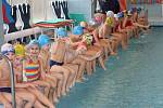 Děti ze Základní školy Dr. Horáka se vody nebojí!
