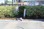 Nehoda v Konečné ulici v Prostějově