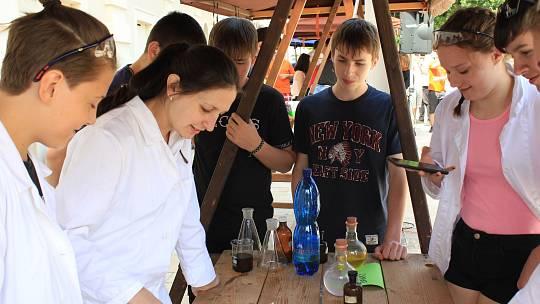 Věda v ulicích Prostějova 2019