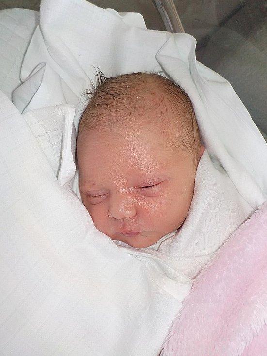 Andrea Sosíková, Čelechovice na Hané, narozena 3. května 2021 v Prostějově, míra 52 cm, váha 3050 g