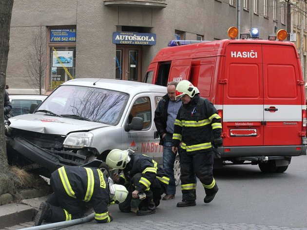 Nehoda v Havlíčkově ulici