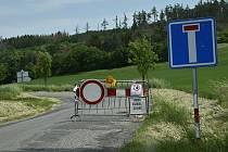 Silnice od Olomouce přes Ludéřov do Laškova bude uzavřena do 23.8. 2020