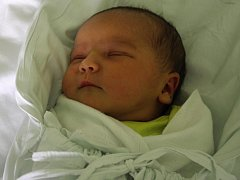 Eliška Šimíčková, Smržice, narozena 12. května v Prostějově, míra 51 cm, váha 3450 g