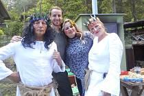 Indiánské odpoledne v Pivíně
