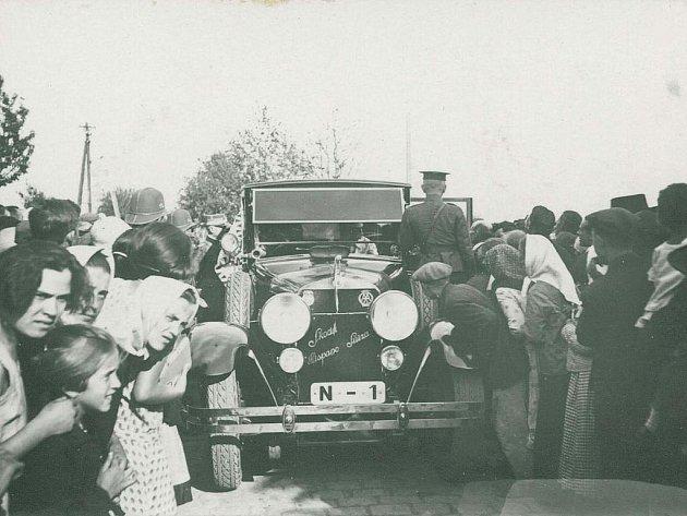 Speciál prezidenta Masaryka ze škodových závodů