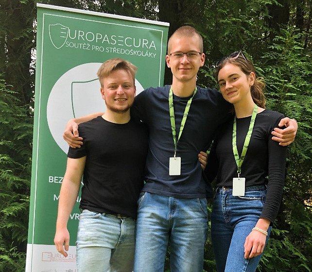 Prostějovští studenti obsadili třetí místo v náročné soutěži EuropaSecura