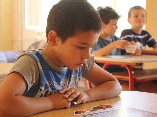 První školní den na ZŠ na Skálově náměstí vProstějově