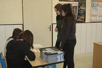 Do studentských voleb se zapojili i studenti Střední odborné školy podnikání a obchodu