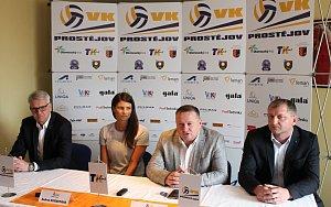 Tisková konference VK Prostějov