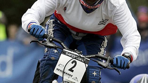 Nadějná prostějovská bikerka Jana Horáková.