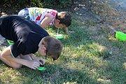 Bájnou Atlantidu se vydali hledat pod vedením skautů z prostějovského střediska Děti přírody milovníci soutěží a zájemci o skauting.