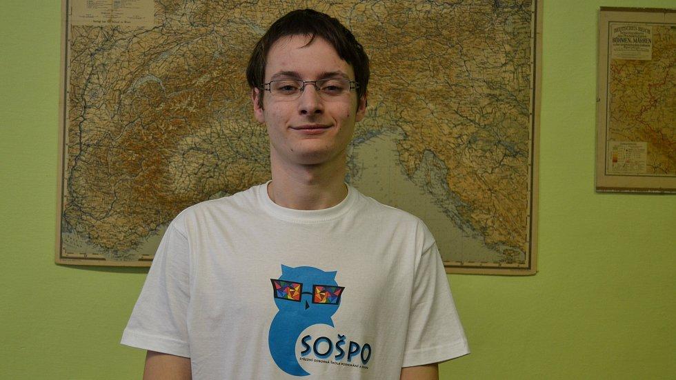 Petr Komárek, student, novinář a spisovatel