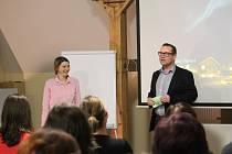 O životě v Norsku přednášela Renata Veselá