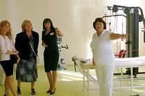 Po pěti měsících otevřela v pondělí Nemocnice Prostějov zrekonstruované Centrum léčebné rehabilitace.
