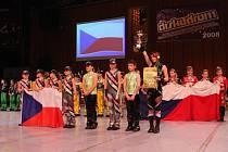 V kategorii Disco dance dětí si hlavní cenu odnesla taneční skupina Hubený z Prostějova.