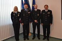 Čtveřice prostějovských policistů dostala medaile za statečnost. Muži zákona zachraňovali životy