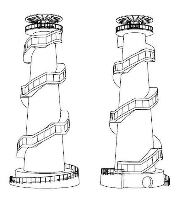 Rozhledna na Kosíři - perspektivy návrhu dřevěného řešení stavby