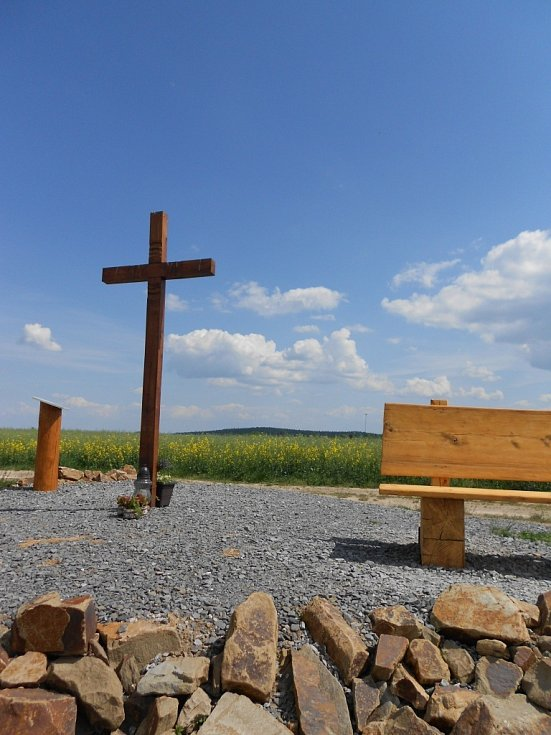 Honzíkův kříž u Repech