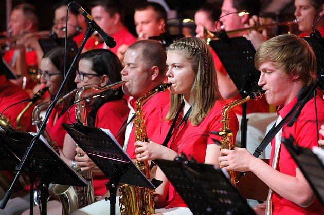 Zahájení jara obstaral v Němčicích nad Hanou tradičně koncert místního dechového orchestru.