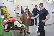 Den otevřených dveří v hasičské stanici v Konici