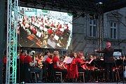 Open air koncert Základní umělecké školy Vladimíra Ambrose v Prostějově