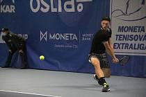 Tenisová extraliga 2020 v Prostějově. Jiří Lehečka