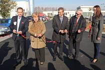 Slavnostní otevření nového parkoviště u prostějovské nemocnice